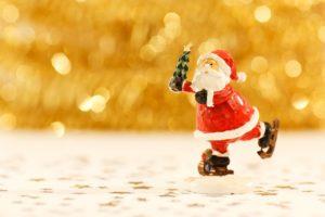 kerstman beeldje
