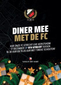 Live kerstshow FC Utrecht