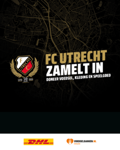 Afbeelding FC Utrecht zamelt in