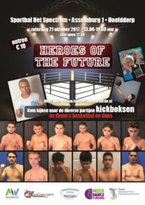 Flyer Heroes of the Future Graan voor Visch