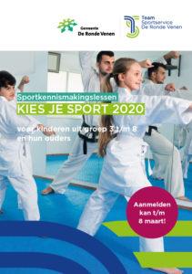 Kies Je Sport 2020 De Ronde Venen