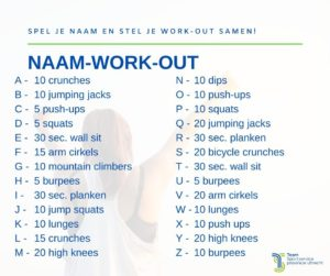 Naam workout