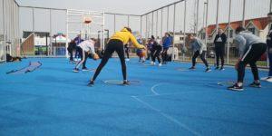 Galdino Haimé basketbalclinic Den Helder