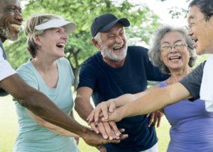 Fitte ouderentraining